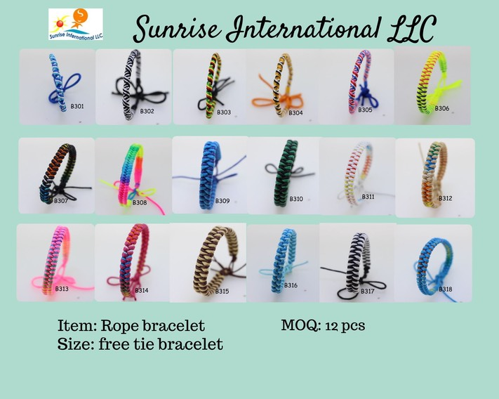 Rope bracelet without price